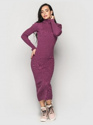 Платье вязаное Simona фуксия