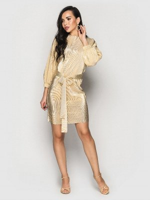 Платье Pandora золотой