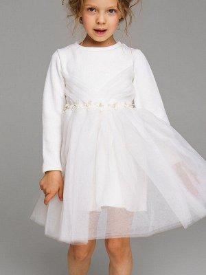 Платье трикотажное для девочек 110