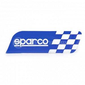 Эмблема с логотипом SPARCO SPC/EMB-001 BL