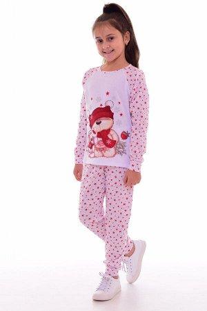 Пижама детская 7-233 (красные звезды)
