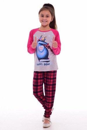 Пижама детская 7-237 (малина)