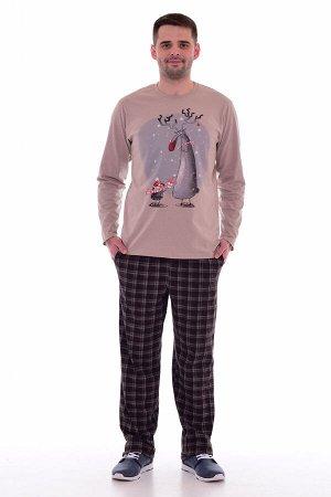 Пижама мужская 9-113 (шоколад)