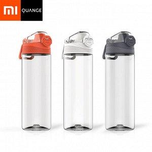 Спортивная бутылка Xiaomi Mijia Quange Hello life Tritan