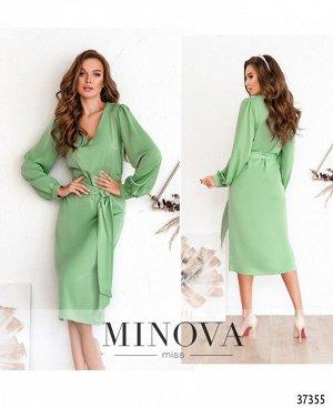 Платье №3134-оливка