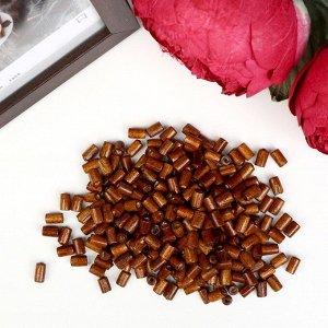Набор деревянных бусин, 8х4мм, 250шт/упак, цв.кофейный