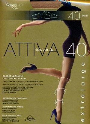 Колготки классические, Omsa, Attiva 40 XXL
