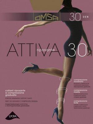 Колготки классические, Omsa, Attiva 30