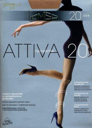Колготки классические, Omsa, Attiva 20