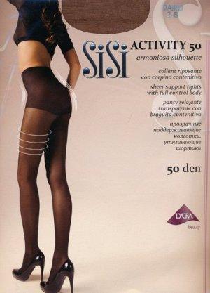 Колготки корректирующие, SiSi, Activity 50