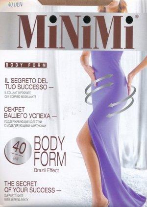 Колготки корректирующие, Minimi, Body Form 40