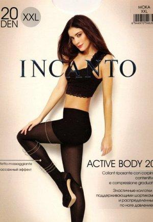 Колготки классические, Incanto, Active Body 20 XXL