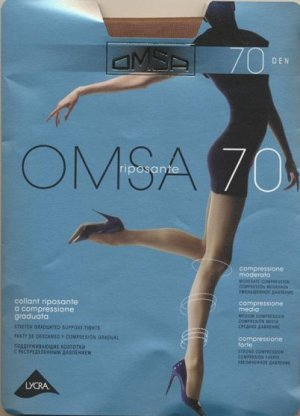 Колготки классические, Omsa, Omsa 70 XXL