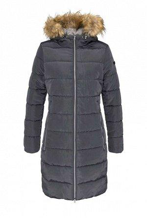 Пальто, антрацитовое