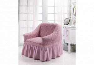 """Набор чехлов для дивана и кресел """"DO&CO"""" 3+1+1, розовый"""
