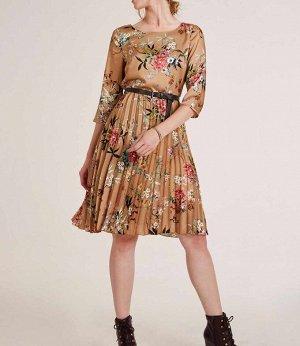 Платье, пестрое
