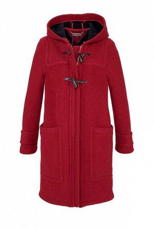 Пальто, красное