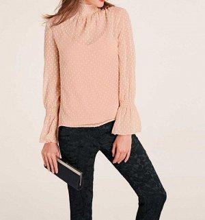 Блузка и топ, розовые