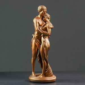 "Фигура ""Влюбленные"" бронза, 13х16х43см"