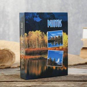 "Фотоальбом BRAUBERG на 60 фотографий 10х15 см""Природа"" МИКС"