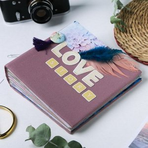 Фотоальбом Love story. набор для создания. 15.7 ? 15.7 ? 2.5 см