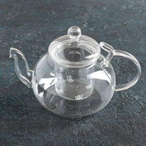 Чайник заварочный «Горгона», 800 мл, со стеклянным ситом