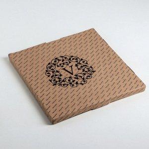 Подставка для торта «Белая», d=30 см, с лопаткой, в подарочной упаковке