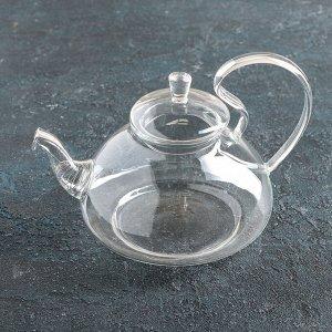Чайник заварочный «Элегия», 800 мл, с металлическим ситом