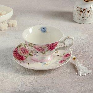 Чайная пара «Душистая роза», 200 мл