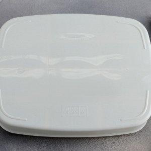 Органайзер для чайных пакетиков, 21,5?17?8 см, 12 ячеек, цвет МИКС