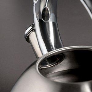 Чайник со свистком «Той», 3 л, капсулированное дно, индукция