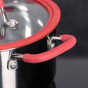 Набор посуды MCFR, 4 предмета: ковш 1,8 л; кастрюля 2,8 л; сковорда d=25 см, кастрюля 5,6 л