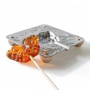 Набор для приготовления леденцов и мармелада «Бабочка», цвет МИКС 2603584