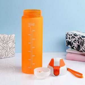 """Бутылка для воды """"Easy"""" 600 мл, микс, 6.5х24 см"""