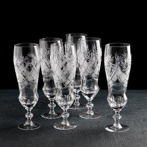 Набор бокалов для пива «Мельница», 6 шт, 350 мл