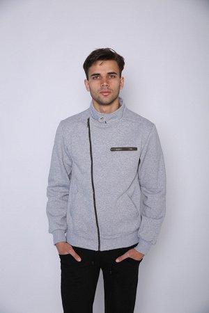 0-1-04 Куртка ТРЕНД серый меланж
