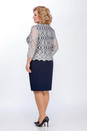 Нарядный женский комплект блуза и юбка