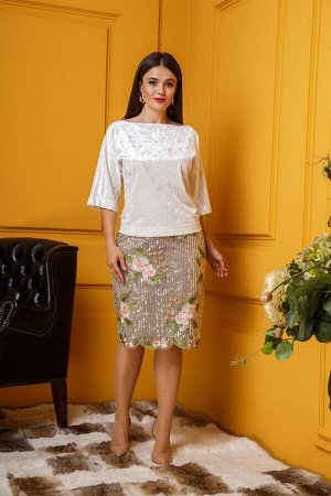 Женский комплект юбка и блуза
