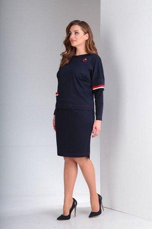 Женский комплект свитшот и юбка