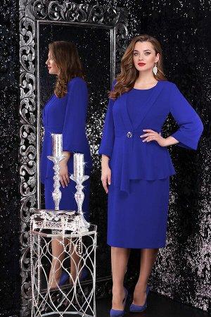 Женский комплект платье с накидкой
