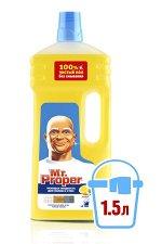 Моющая жидкость MR PROPER Лимон (1,5 л)