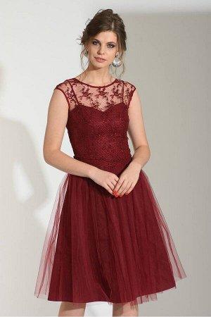 Платье Sharm Art 1030 бордо