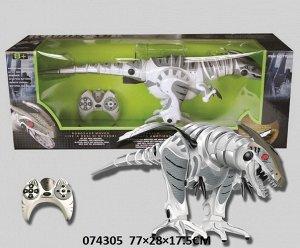 Динозавр р/у , на бат, кор. 77*28*17,5 см.