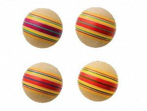 "Мяч д. 200 мм ЭКО ""Дорожки"" ручное окрашивание"