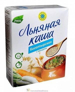 Каша Богатырская льняная с овощами 400 г