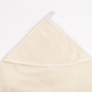Пеленка-полотенце для купания беж.