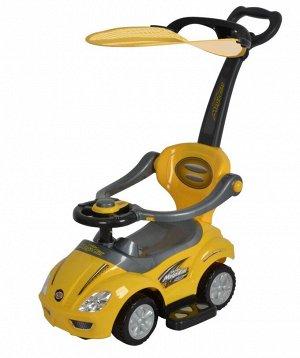 """Машина для катания детей Толокар """"CHILOK BO"""" 381С (желтый)"""