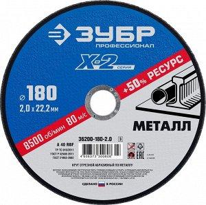 "Круг отрезной ""X-2"" по металлу"