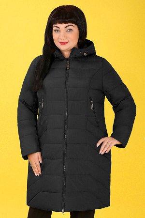 Черный Примечание:замеры длин соответствуют размеру 52 Длина пальто:97 см Длина рукава:64 см Подкладка:есть, синтепон Застежка:молния спереди Карманы:есть, два функциональных на молнии, два функц