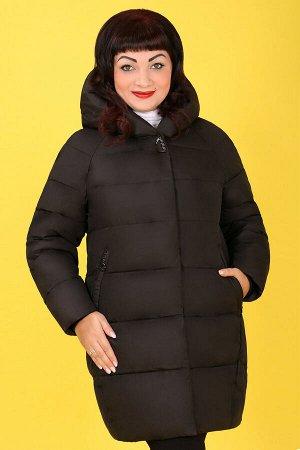 Черный Примечание:замеры длин соответствуют размеру 54 Длина пальто:88 см Длина рукава:64 см Подкладка:есть, синтепон Застежка:молния спереди, кнопки Карманы:есть, два функциональных на молнии Д